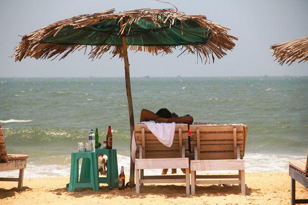 Goa Beaches List - Candolim Beach