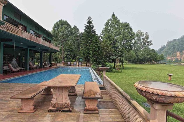 Corbett Riverside Resort, hotel-resort-jim-corbett-national-park
