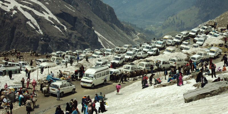 Solang Valley to Rohtang Pass